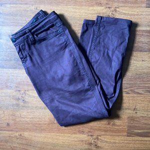 Skinny Aubergine Lux Jeans - Urban Outfitters
